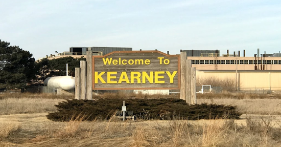 Kearney City Sign